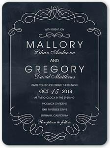 elegant embellishments 6x8 wedding invitations shutterfly With 6x8 wedding invitations