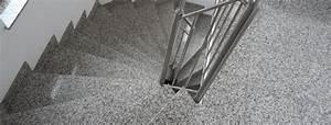Außentreppe Waschbeton Sanieren : treppenfliesen aussen rutschfest privat steindesign kieselbeschichtung steinteppich treppen ~ Orissabook.com Haus und Dekorationen