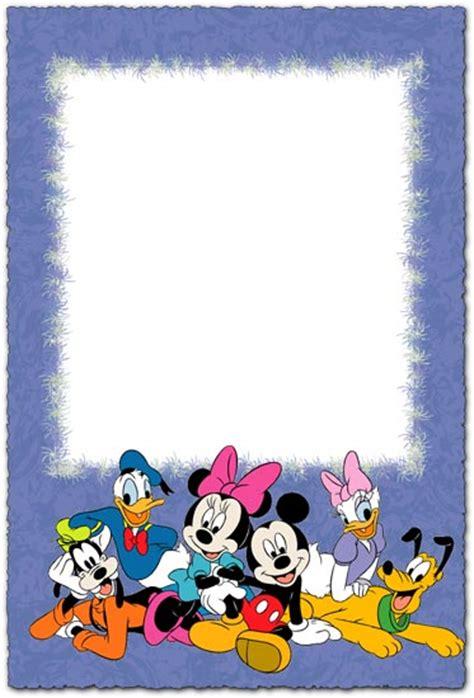 walt disney characters photo frame  children