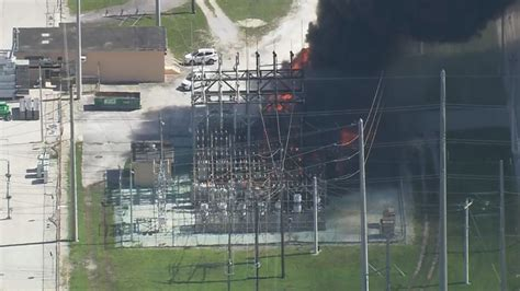 florida power light miami fl explosion reported at fpl substation in miami dade county