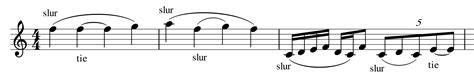 (one of the cross braces that support the rails on a railway track. theory - Are these C notes a slur or a tie? - Music: Practice & Theory Stack Exchange