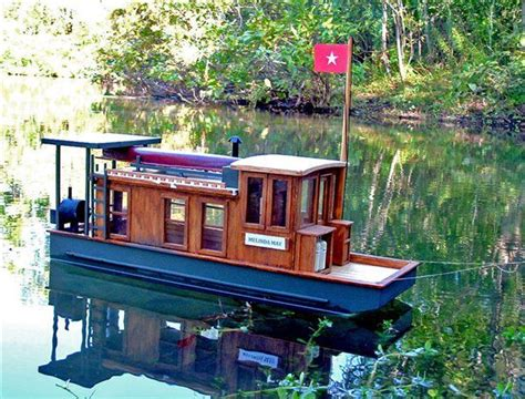 Wooden Houseboat Plans by Pontoon Boat Plans Woodworking Projects Plans