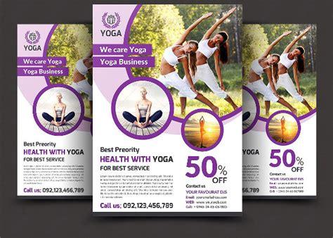 Yoga Flyer Template Costumepartyrun