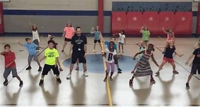 Gym Nae Class Teacher Whip Elementary Dance