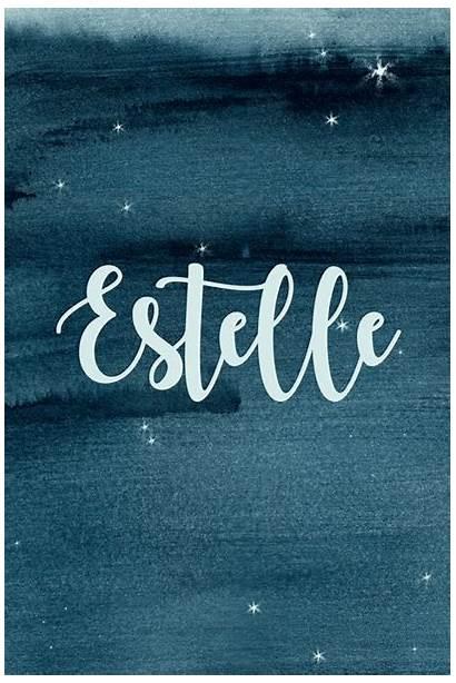 Names Estelle Star Celestial Livingly French Start