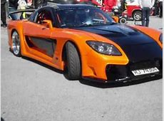 Mazda RX7 Tokyo drift Veilside Fortune YouTube