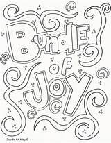 Coloring Joy Bundle Alley Doodle sketch template