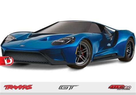 traxxas ford gt all new ford gt on 4 tec 2 0 chassis from traxxas rc driver