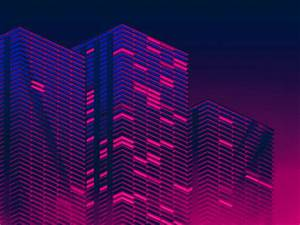 Neon City 🌃 by Joe Mortell Dribbble