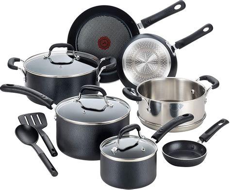 cookware induction nonstick pans pots professional fal safe dishwasher heat base amazon sets kitchen brands