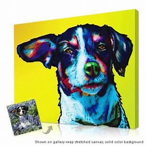 Sample Of Apa Personalized Pop Art Photo Pet Glo Portrait