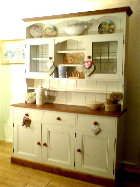 Country Style Kitchen Furniture by Large Country Style Dresser Given A Shabby Chic