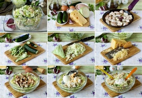 Svaigu kāpostu salāti ar vistas gaļu un sieru - Laiki mainās!