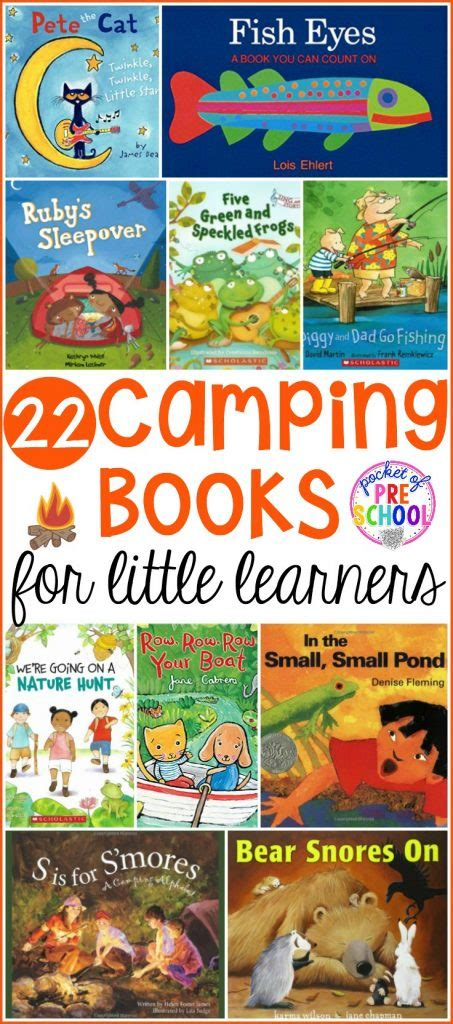 camping books for learners pocket of preschool 828   Camping Books Long Pin Edited 453x1024