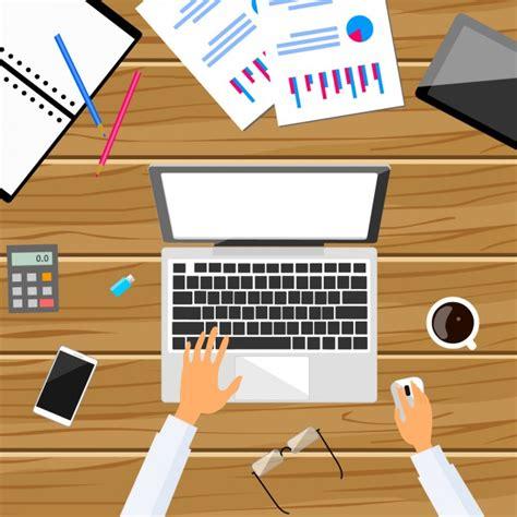 telecharger bureau travailler à la conception de bureau télécharger des vecteurs gratuitement