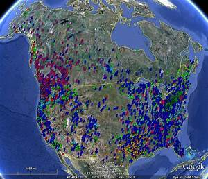 Bigfoot Sightings Maps | Markosun's Blog