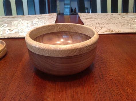 black walnut  white oak bowl woodworking talk