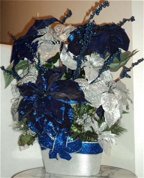 blue and silver flower arrangements fit figures manual to keep fit and healthy