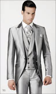 wedding tuxedos for groom silver grey tailed wedding suits for groom