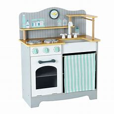 New Elc Wooden Classic Kitchen Toy From 3 Years  £5000