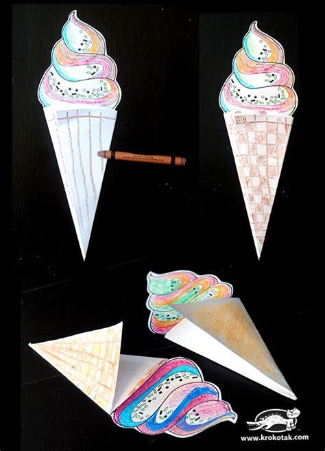 krokotak color cut create ice cream