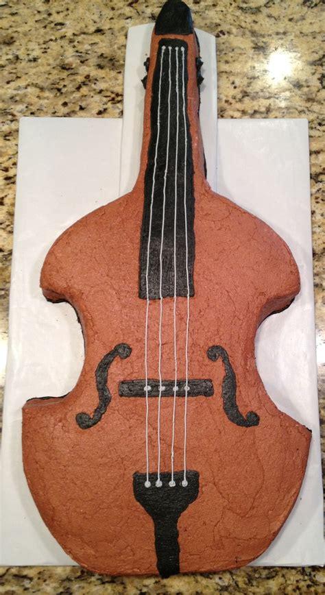 upright bass cakethink    birthday cake
