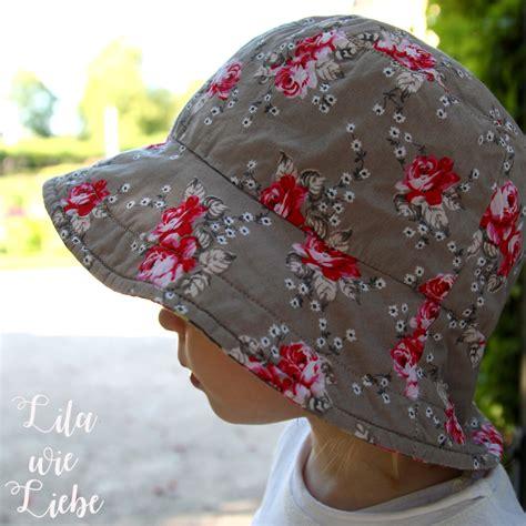 reversible bucket hat sommerhut freebook oliverands