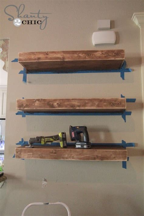 how to build a floating shelf diy floating shelves
