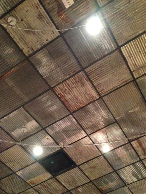 ceiling tile ideas metal roof panels for basement ceiling search