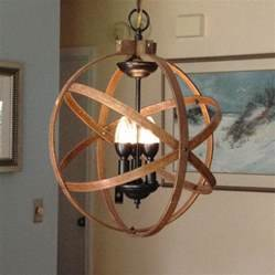 Orb chandelier light quot atomic fixture industrial