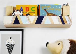 Etagere Pour Enfant : fabriquer avec des palettes tag re pour enfant clemaroundthecorner ~ Teatrodelosmanantiales.com Idées de Décoration