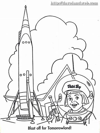 Miles Coloring Pages Tomorrowland Dutch Boy Paint