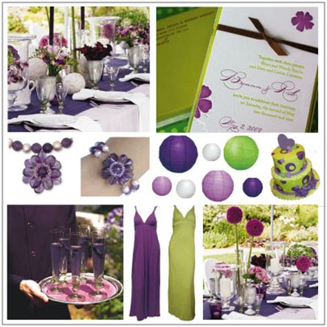 wedding theme purple and green what color flowers go with lapis purple weddingbee