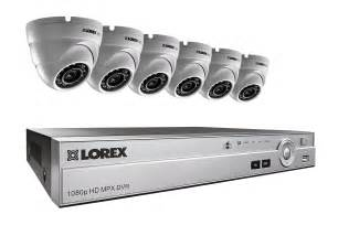 HD 1080p dome camera DVR security system