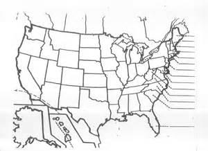 Printable Blank Us Map Worksheet