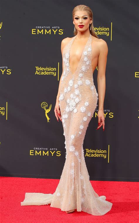 The Most Daring Nearly Naked Emmys Dresses Of All Time