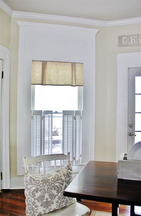 How to Create a Faux Transom Window   Thistlewood Farm
