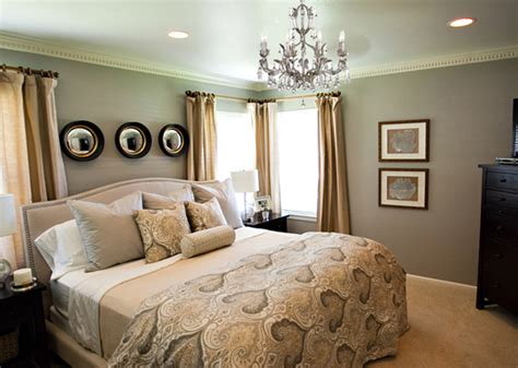 wallpaper in master bedroom 45 master bedroom ideas for your home 17773 | Chandelier Magen Master Bedroom Makeover After A Well Dressed Home7