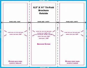 8 5 X 11 Half Fold Brochure Template Indesign