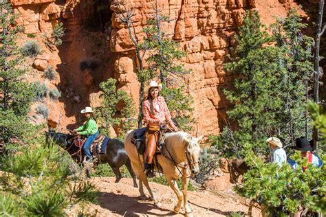 horseback bryce riding canyon rides adventures site