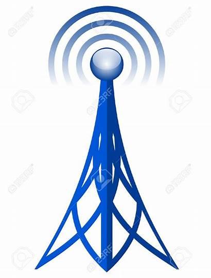 Icon Antenna Radio Clipart Antena Mobile Dell