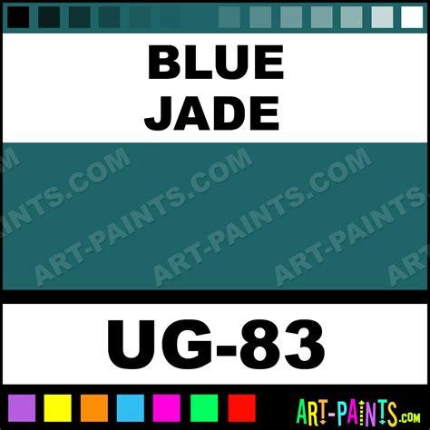 blue jade non toxic opaque ceramic paints ug 83 blue