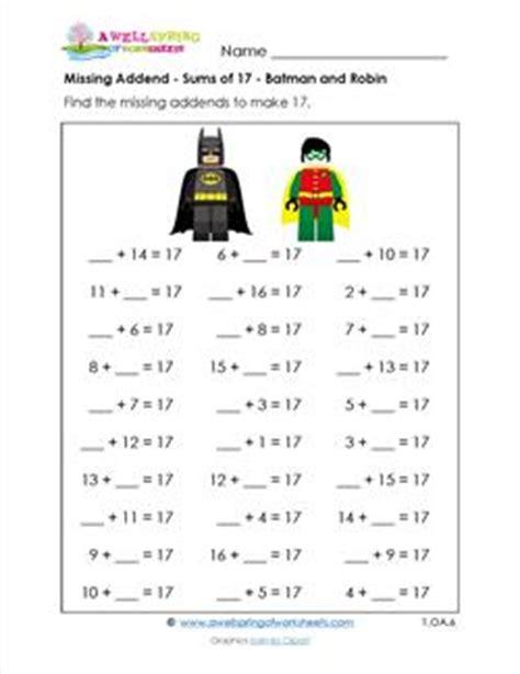 batman missing math activity 171 funnycrafts 450 | batman missing math activity