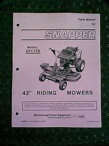 Snapper Rear Engine Riding Mower 42 U0026quot  Model 42113s Parts