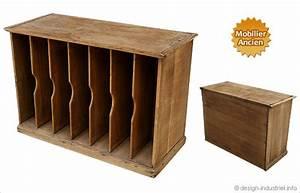 Meuble Rangement Casier : meuble casier style cartonnier ~ Teatrodelosmanantiales.com Idées de Décoration