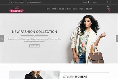Template Bootstrap Templates Ecommerce Website Web Responsive