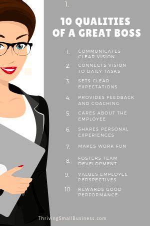 good boss  qualities   good boss good