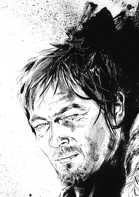 Illustration - The Walking Dead on Behance
