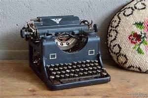 Objet Vintage Deco : machine crire raymond l 39 atelier belle lurette ~ Teatrodelosmanantiales.com Idées de Décoration