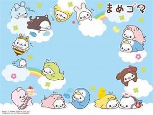Cute Kawaii Background   Mamegoma Background Desktop ...